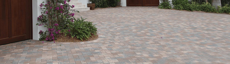 Flat Brick Tricircle Pavers
