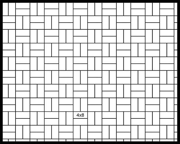 4x8 Parquet