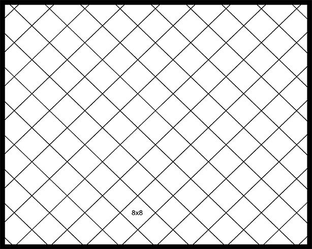 8x8 Diagonal