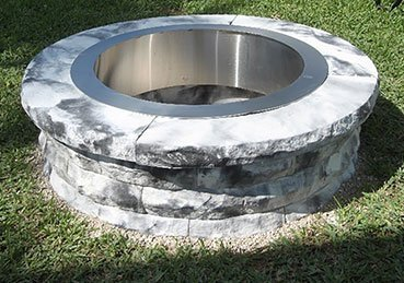 Firepits round